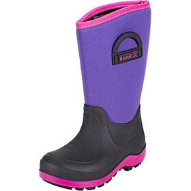 Kamik Bluster Rubber Boots Kinder purple